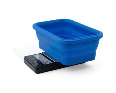 Scale OB SBS-200 collapsible silicone bowl (200 x 0.01 g)