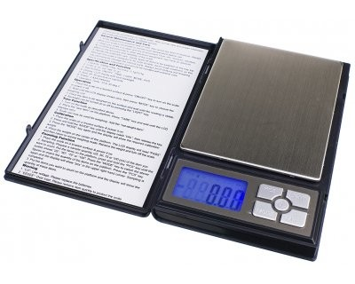 Scale On Balance Notebook (100 x 0.01 g)
