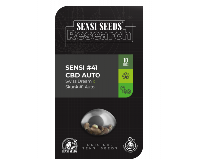 Sensi #41 CBD Swiss Dream x Skunk #1 Auto (Sensi Research)