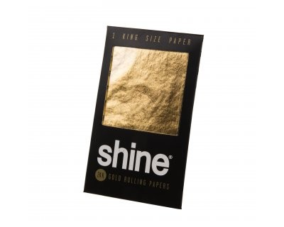 Shine golden smoking paper