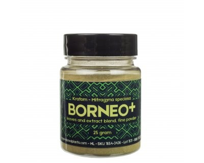 Kratom Borneo Red Plus (Sacred Plants) - Polvo & Extracto